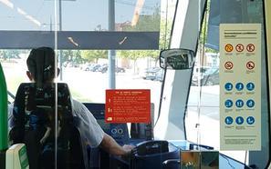 Así son las nuevas señales del metro de Granada en paradas, estaciones e interior de trenes