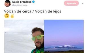 Broncano sube dos fotos de sus vacaciones y Twitter se llena de memes