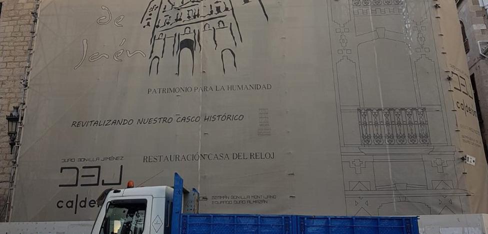 Comienza la rehabilitación de la 'Casa del Reloj' de Jaén
