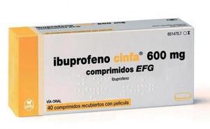 Las farmacias dispensan ibuprofeno 600 mg sin receta, según la OCU