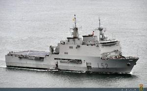 España toma el mando de la fuerza dentro de la operación 'Atalanta'