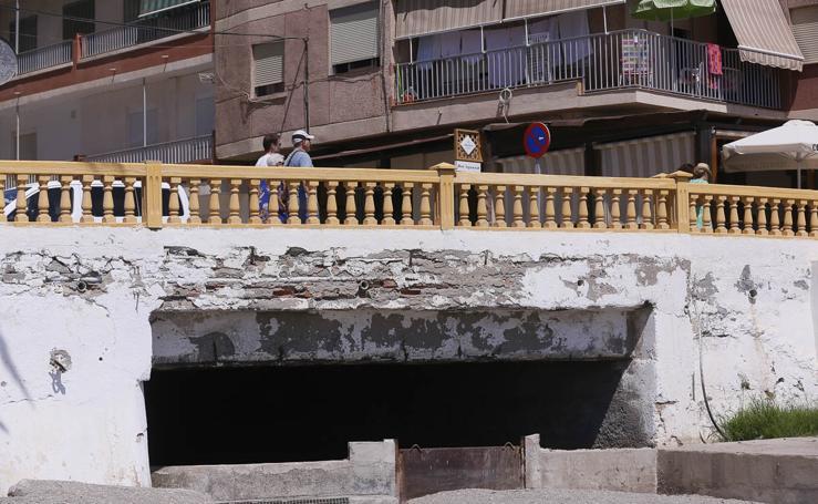 PP-Motril advierte del mal estado de la rambla de Villanueva en Torrenueva