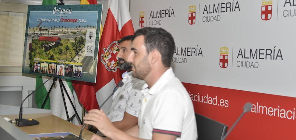 La Faluca será el escenario de playa del Cooltural Fest en Almería