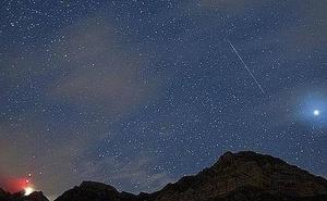 Lluvia de estrellas... y meteoros