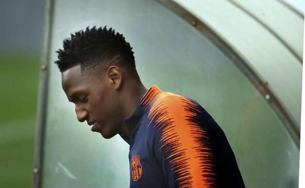 El colombiano Yerry Mina.