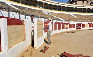 Actuaciones de mantenimiento y mejora en la plaza de toros