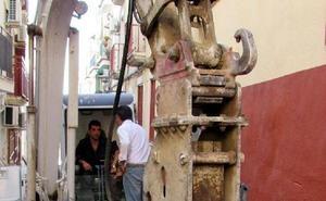 Cultura no permite el hormigón en cuatro calles del casco histórico