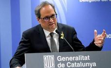 Torra ve «razonable» aparcar la República catalana si el Gobierno acepta un referéndum sobre la independencia