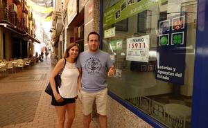 'El Romerito' vuelve a repartir suerte en Bailén con el primer premio de la Lotería