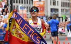 Exhibición de la granadina María Pérez para ser campeona de Europa: así ha llegado a meta
