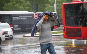 Aviso amarillo en la provincia de Granada por fuertes lluvias y tormentas