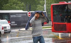 Aviso amarillo en la provincia de Jaén por fuertes lluvias y tormentas
