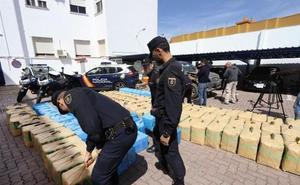 Incautados más de 6.000 kilos de hachís en 15 días en el Campo de Gibraltar