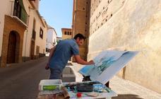 El Certamen de Pintura Rápida 'Ciudad de Guadix' despierta a la ciudad