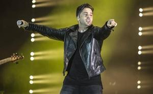 Apedrean a David Bustamante durante su concierto en Elche