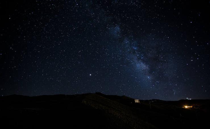Noche de perseidas en Sierra Nevada