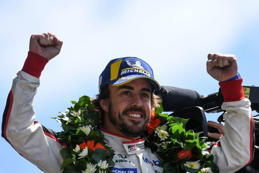 Alonso se centra en la Triple Corona