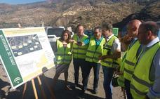 La Junta invierte medio millón de euros en obras de emergencia de cinco kilómetros de la A-348 en la Alpujarra