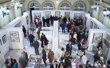 La muestra 'Luces' inaugura una semana de tradición y albero en la Diputación