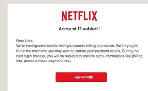 Alerta de la estfa sobre Netlix que afecta a miles de usuarios