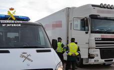Detenido el conductor de un camión cargado de cervezas que septuplicaba la tasa de alcohol