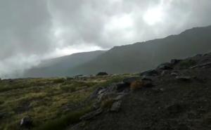 El Sereim rescata con helicóptero a un montañista herido en el Vivac de la Caldera
