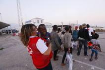 230 personas rescatadas en el Mar de Alborán llegan al Puerto de Motril