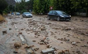 Una tormenta causa daños en Íllora tras verter 45 litros por metro cuadrado en 10 minutos