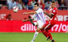 Las mejores imágenes del partido Girona-Valladolid