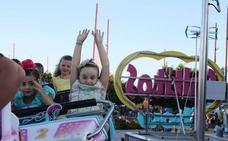 Las atracciones de la Feria de Almería tendrán la misma música para restar ruido a la noche