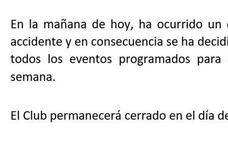 Suspenden la final del torneo de tenis en Almería por el fallecimiento de un trabajador