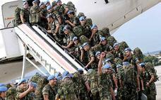 Cerca de 24.000 militares españoles han desplegado desde 2006 en el Líbano