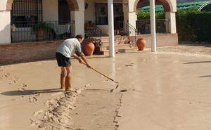 El temporal aísla Jaén por tren, obliga a evacuar Salud Responde y causa destrozos en el olivar