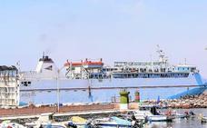 Continúa la caída de pasajeros en el puerto de Motril: un 72% menos