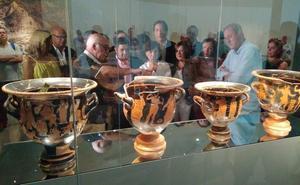 La vicepresidenta del Gobierno visita el Museo Íbero de Jaén
