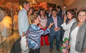 Calvo destaca «la singularidad» del Museo Íbero de Jaén y señala «la disposición a cooperar» sobre los fondos estatales