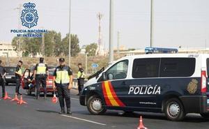 Dispositivo especial de prevención de robos con fuerza en la vía pública de Jaén
