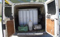 Desarticulada la banda del fallecido en Los Villares que robaba aceite de oliva en las almazaras