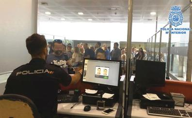 Detenido en el aeropuerto de Almería un fugitivo reclamado en Estonia