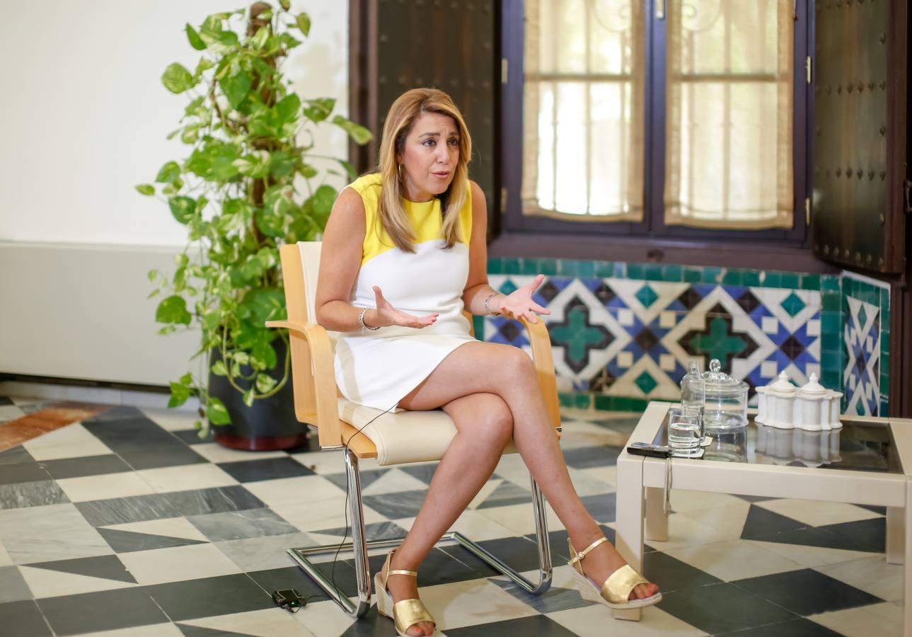 Susana Díaz es partidaria de que las elecciones en Andalucía no coincida con las generales