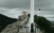 La nave de Darth Vader aterriza en la plaza de Santa María de Jaén