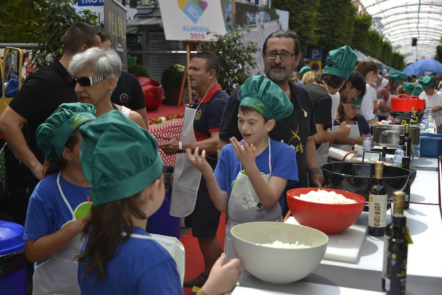 Concurso de gastronomía infantil