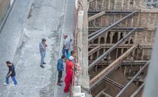Las obras en el solar del demolido hotel Montecarlo causan un colapso en Puerta Real