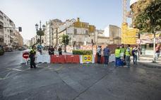 Sigue el corte de tráfico tras el susto del hotel Montecarlo aunque no hay peligro