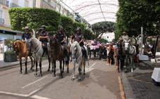 Más de 150 policías nacionales velan por la seguridad en Feria a caballo, a pie o de paisano