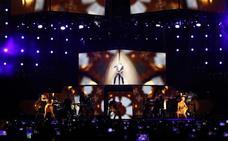 Ricky Martin sube la 'fiebre' al público de Almería