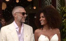 Polémica boda del ex de Bellucci con una modelo