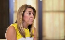 Susana Díaz destaca que Sánchez tiene con Andalucía el «compromiso y sensibilidad» que no tuvo Rajoy