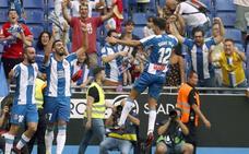 El Espanyol hunde al Valencia con cinco minutos de magia
