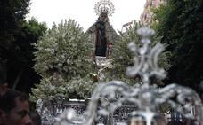 El cielo de Almería como palio para la Virgen del Mar
